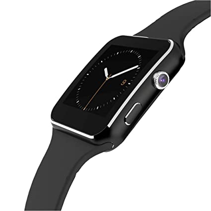 Bluetooth Smart Watch with Camera, Touch Screen Smartwatch with Sim Card Slot Fitness Tracker for Android/Samsung /iOS Apple Smart Phones (Original ...