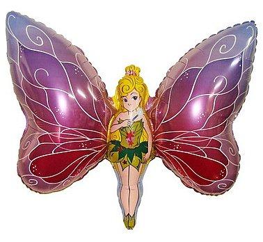 Huge Fairy/ Butterfly Foil Balloon 24