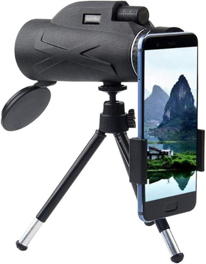 LALEO Telescopio Profesional 80X100 HD Visión Nocturna Monocular Zoom Óptico Spyglass Monóculo para Francotirador Caza Rifle Spotting Scope