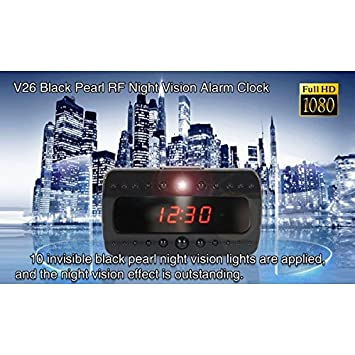 Reloj despertador con cámara reloj espía 1920 x 1080 Full HD Night Vision Motion Detector cw80 Comprare web: Amazon.es: Electrónica