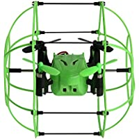 RC Drone, Anyren Helic Max Sky Walker 1336 2.4GHz 4CH RC Quadcopter 3D Flip Climbing Wall Roller for Kids Gift (Green)