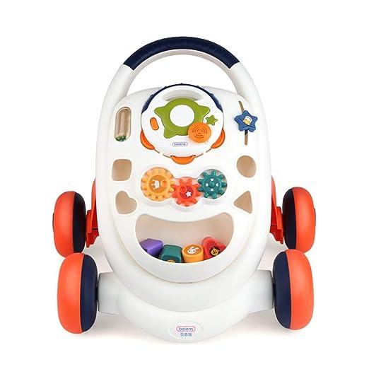 CHAOLIU Andador para bebés, Uso 2 en 1 como Juguete para Empujar ...