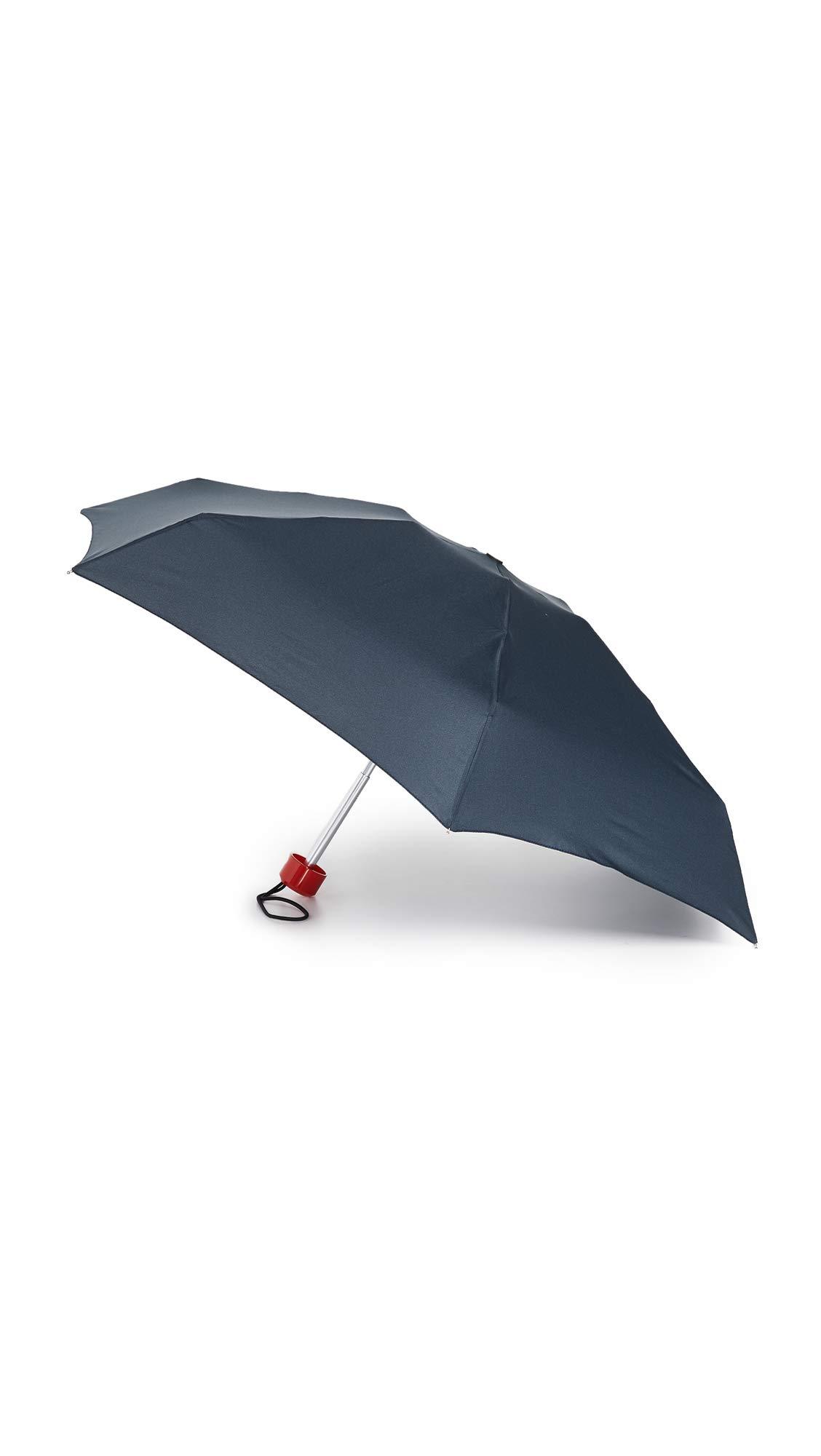 Hunter Boots Men's Original Mini Compact Umbrella, Navy, Blue, One Size