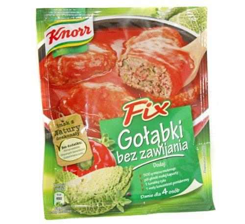 Stuffed Cabbage Leaves - Knorr Golabki Bez Zawijania Fix 3-pack (3x64g/3x2.2oz)