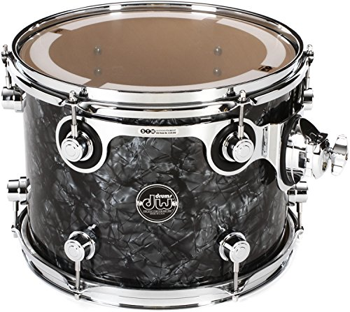 DW Performance Series Mounted Tom - 9 Inches X 12 Inches Black Diamond FinishPly by DW