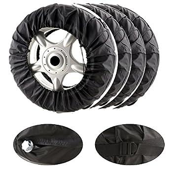 akhan RT02 - Neumáticos bolsillos Set 4 Piezas Organizador: Amazon.es: Coche y moto
