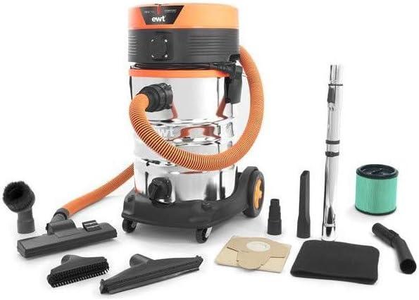 EWT – Aspirador de agua y polvo 30 litros cubeta acero inoxidable cs5comfort: Amazon.es: Hogar
