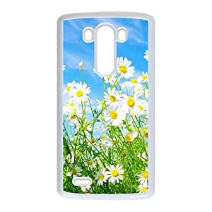 LG G3 Phone Case White Daisy Flower NLG7797364
