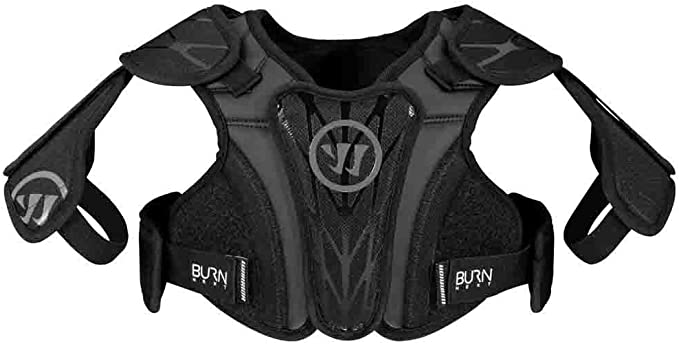 Warrior Burn Next Youth - Best Lacrosse Shoulder Pads for The Price