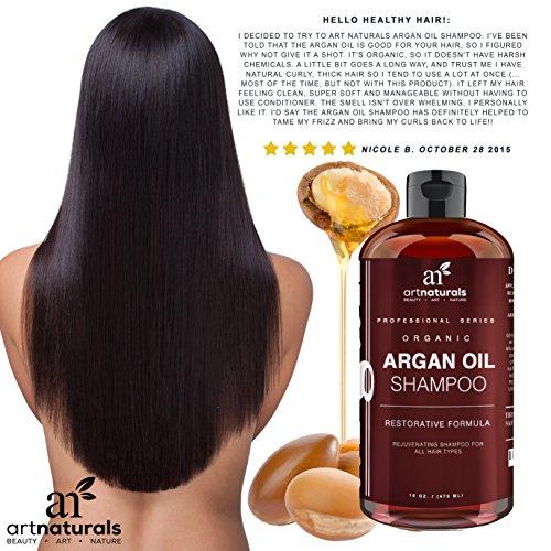 Art Naturals Organic Daily Argan Oil Shampoo 16 Oz Best