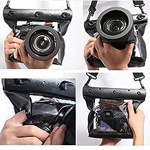partspipe 20M Underwater Waterproof Case DSLR SLR For Canon 5D III 5D2 7D 60D Nikon D700