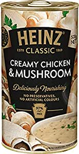 Heinz Classic Creamy Chicken and Mushroom Soup, 520g