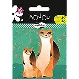 Maildor Modou Mum and Baby Ferret