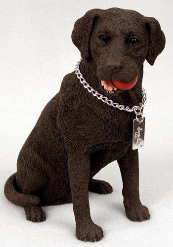 Conversation Concepts Labrador Retriever Chocolate My Dog Figurine Set of 6