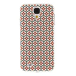 Mini - Honeycomb Gridding Pattern Plastic Protective Hard Back Case Cover for Samsung Galaxy S4 I9500