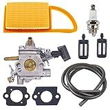 Atoparts C1Q-S183 Carburetor with Air Filter Fuel