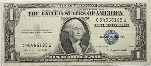 1935 Series G Silver Certificate in Very Good Condition