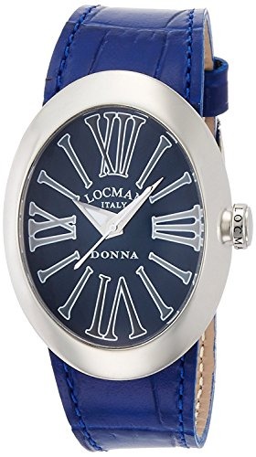 LOCMAN watch change Donna quartz belt 3 with this ladies 0410 041000BLGYAGPSB-W-A Ladies