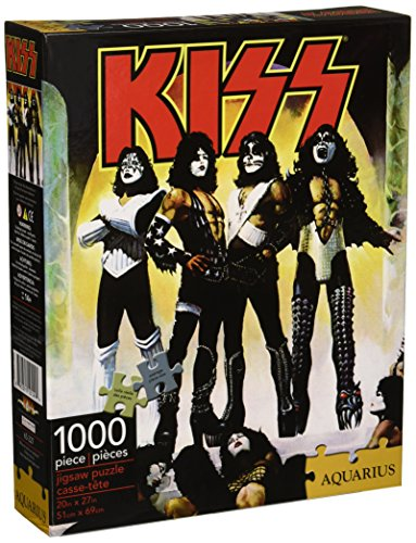 Kiss-Love Gun 1000 Pc Jigsaw Puzzle (Games Collectible Card Rock)