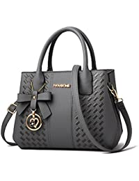 c31a9745de Purses and Handbags for Women Fashion Ladies PU Leather Top Handle Satchel  Shoulder Tote Bags