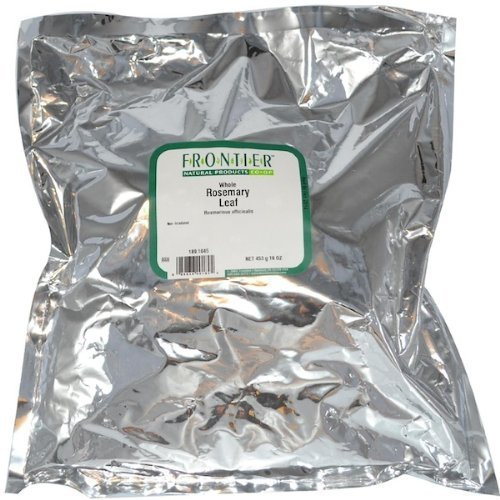 Rosemary Leaf Whole - Extra Fancy Grade, 1 lb,(Frontier)