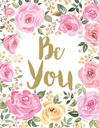 Be-You-Pink-Floral-Large-Notebook-85-x-11