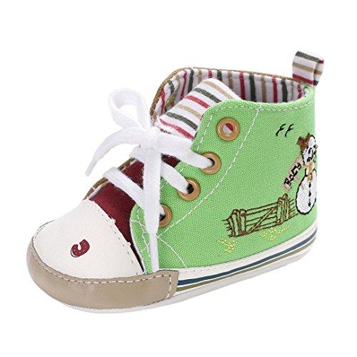 JIANGFU Baby Kleinkindschuhe,Baby-Jungen-weiche sohle Säuglingskleinkind-neugeborene Schuhe Gn