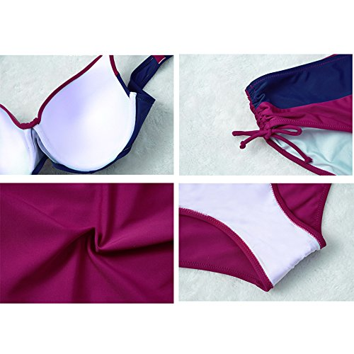 Per Bagno Tracolla Verde Lady Ragazze Beach Balneare Vintage Costume Bikini A Con Le Regolabile Bagno Costume Da Le Donne Da Swimdress Balneare Per Spa Due Pezzi 4ayaEUBwq