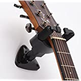 Phorcs Guitar Hanger, Professional Guitar Hook Holder Wall Mount Display, Easy to Install, Fits All Size Electric Guitar, Ukulele Acoustic Bass Mandolin Banjo