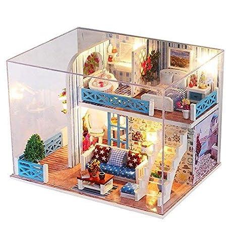 Broadroot Kit de muñecas de madera en miniatura para casa y manualidades, modelo de montaje estereoscópico 3D Sea View: Amazon.es: Hogar