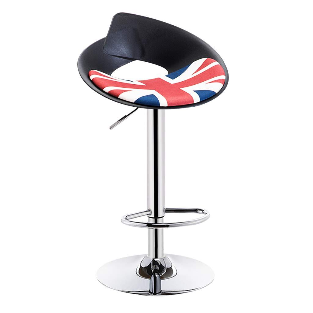 CFJRB インダストリアルスタイルのBarStool   PPの座席が付いている型の美の椅子は棒台所美のスツールの高さのために持ち上がることができます:57-77cm (色 : Color#3) B07MQTK6B1 Color#3