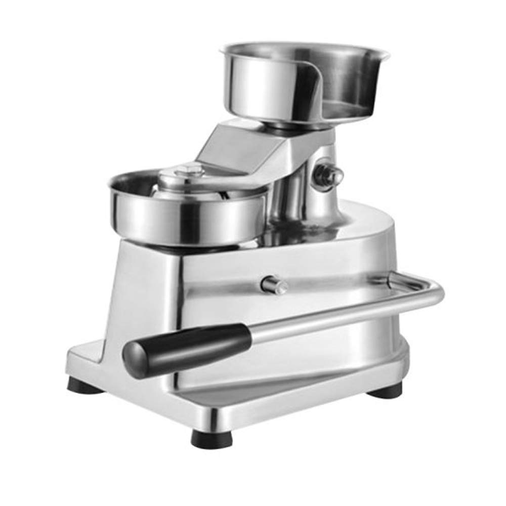 Zinnor 100mm Manual Hamburger Press Burger Forming Machine Round Meat shaping Aluminum Machine Forming Burger Patty MakersUniform Patties by Zinnor (Image #2)