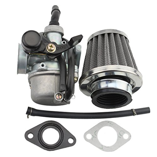 GOOFIT PZ19 Carburetor with Air Filter for Kazuma Taotao Baja Polaris Roketa SUNL Honda XR/CRF 50cc 70cc 90cc 110cc 125cc Dirt Pit Bike Go Kart Chinese 4 ()