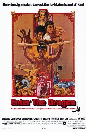 Enter the Dragon Poster Movie 11x17 Bruce Lee John Saxon Jim Kelly Ahna Capri Premium Poster Print, -