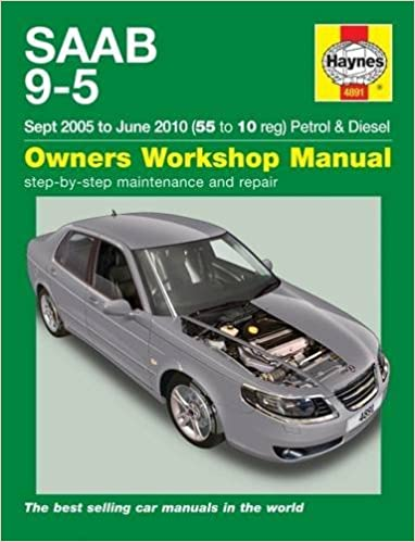 Book SAAB 9-5 Owners Workshop Manual by Anon (2016-02-18)