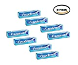 PACK OF 8 - Fixodent Denture Cream Adhesive, 2.4 oz