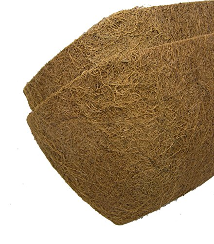 24'' Long Molded Coco Fiber Replacement Liners for window hayrack - 2 pk by Garden Artisans