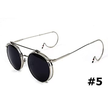 ZHOUYF Gafas de Sol Moda Steampunk Rock Style Sunglasses ...