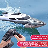 35KM/H Large RC Boat Cool Night Headlight 2.4G HJ806 Remote Controlled Ship Electric