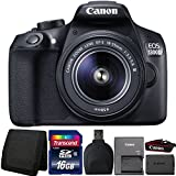 Canon EOS 1300D/T6 18MP DSLR camera with 18-55mm III Lens and Accessory Kit