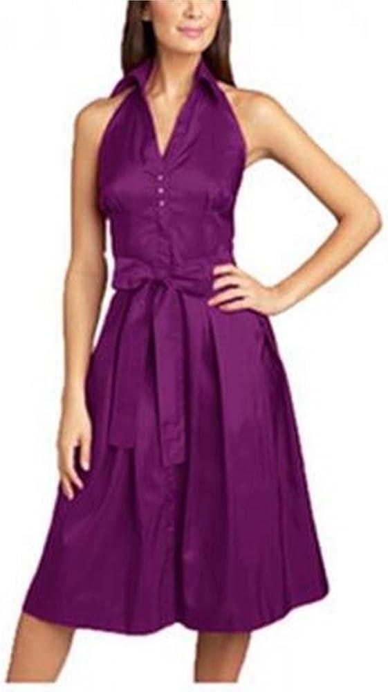 Angel/&Lily Satin Halter Dress plus1x-10x