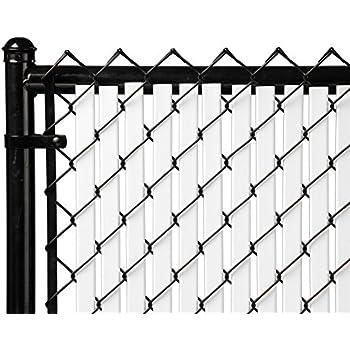 Amazon Com 6ft White Tube Slats 174 For Chain Link Fence