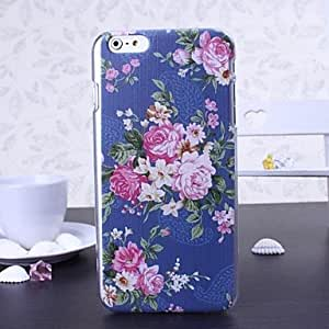 GJY Beauty Florals Series Plastic Hard Cover for iPhone 6 Plus(Assorted Colors) , Multicolor