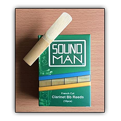Soundman® Clarinette Anches (Sib) Reeds pour l'usage quotidien 10 pièces (2,0)