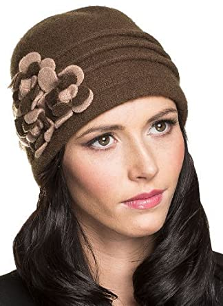 Roco Clothing Womens Brown Beanie b33bc96fbab