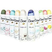 Dove Antiperspirant Spray Deodorant For Women 150 ml ( Pack of 10 )