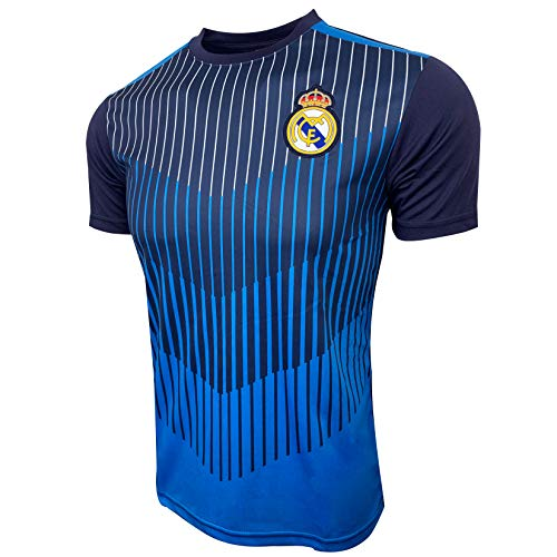 Real Madrid Official Training Jersey for Kids and Adults, Performance Jersey -
