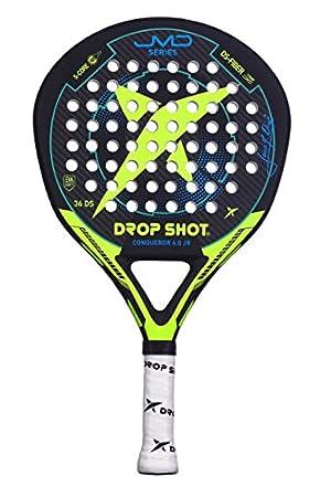 DROP SHOT Conqueror Jr Pala Pádel, Unisex niños, Negro, 280-310 gr: Amazon.es: Deportes y aire libre
