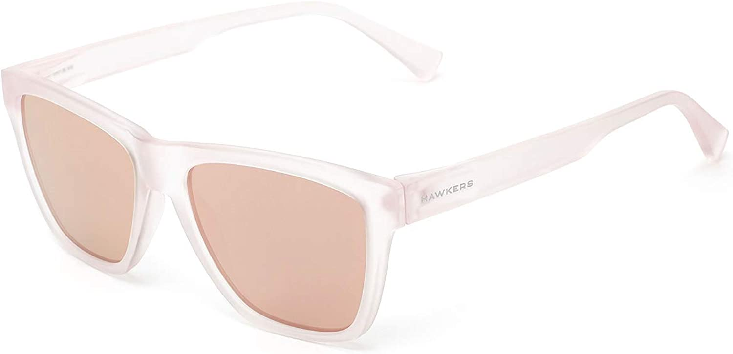 Pink HAWKERS Unisex Adults/' Frozen Rose Gold ONE LS Sunglasses /Único