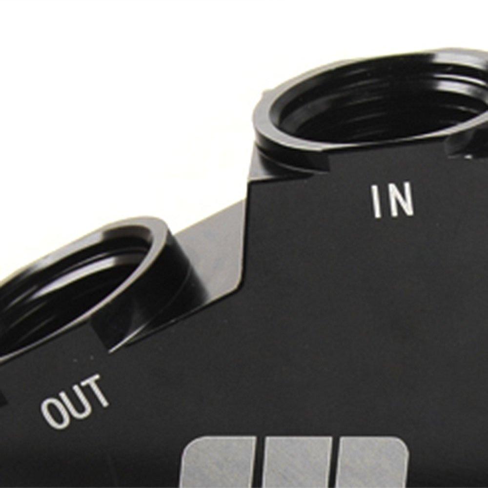 AN10 GM Oil Cooler Adaptor Fit For BILLET LS1 LS2 LS3 LSX VE HSV VZ DRAG RACE Black